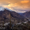 Hunza valley from Duiker; Pakistan
