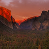 El Capitan during sunset