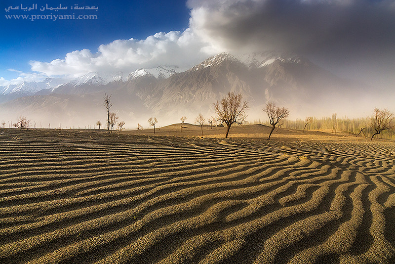 Skardu desert, Pakistan