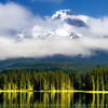 Mount Hood from Trillium lake, Oregon, USA