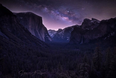 Yosemite NP night
