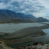 "Indus River at Skardu ""Pakistan""."