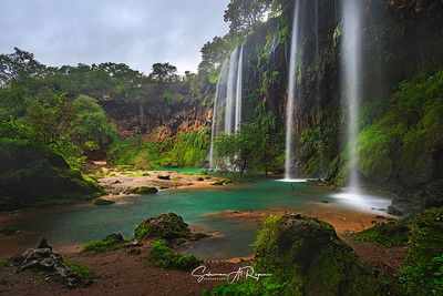 Athoom waterfalls, شلالات أثوم