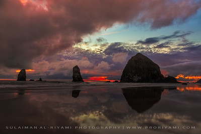 Cannon beach, Oregon coast, USA.