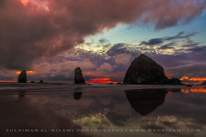 Cannon beach, Oregon coast, USA.