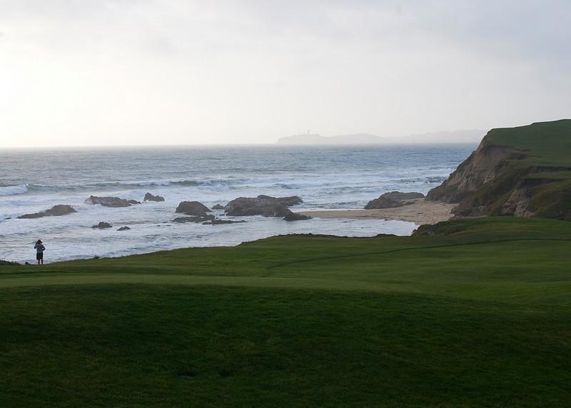 Golf course at The Ritz-Carlton<br /> Half Moon Bay, California<br /> April 2009