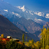 "Mount Rakaposhi viewd from Karimabad, Hunza ""Pakistan"""