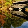 Covered Bridge and Lake