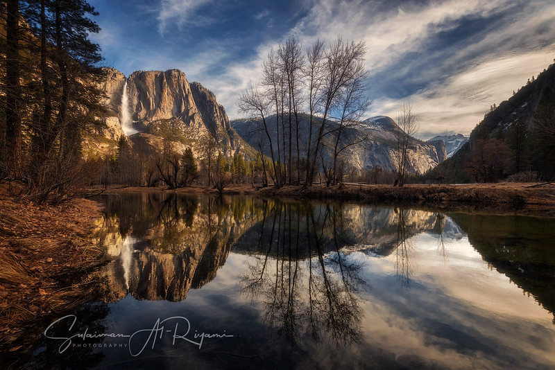 Yosemite falls & Merced river