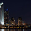 San Diego city panorama