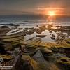 Sunrise at Ras Ruwais'Oman  شروق الشمس على شاطئ راس رويس - محوت