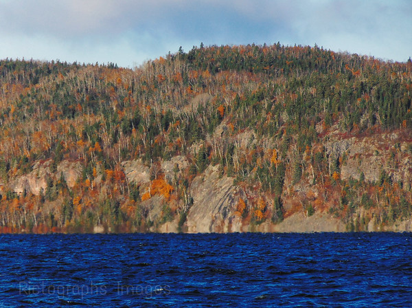 Hayes Lake In The Boreal Forest, Rictographs Images