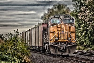 Pushing Coal