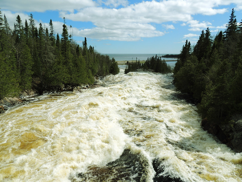 Aguasabon River, Lake Superior