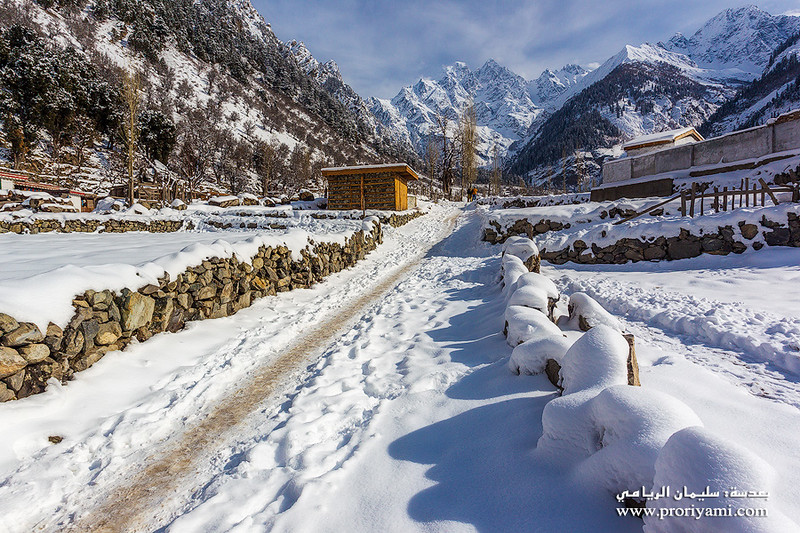 Kalam winter, Swat valley, Pakistan