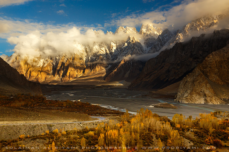 Pasu cones, Karakoram range, Pakistan.