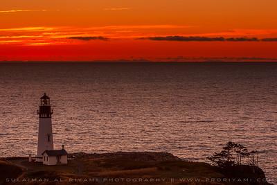 """Yaquina Head Lighthouse, Oergon Coast """" USA """""""
