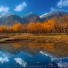 "Blue and Orange, Skardu ""Pakistan"""