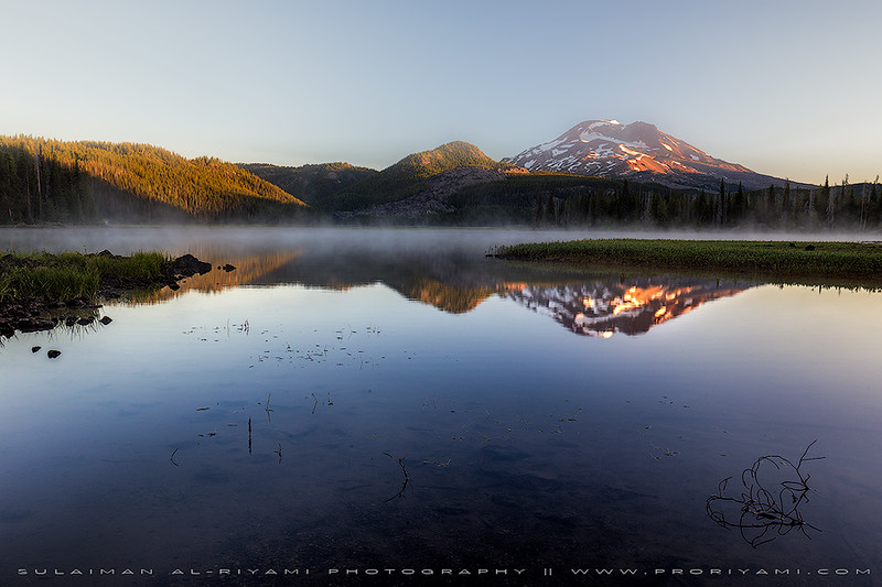 Sparks Lake, Oregon, USA