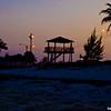 Taino beach at sunset