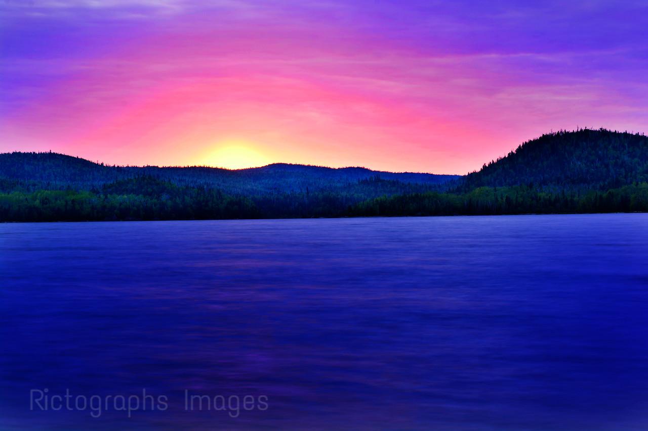 Hayes Lake, Schreiber, Ontario, Canada
