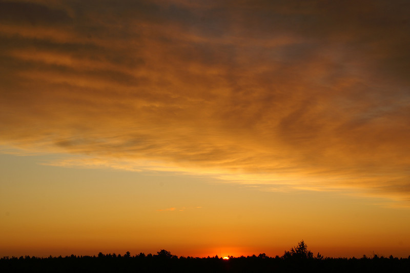 Kingston Plains Sunrise<br /> Alger County, Michigan