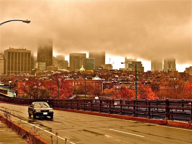 Foggy Fall.