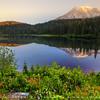 Mt. Rainier Reflection Lake, Washington, USA