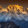 "The Golden Peak at sunset, Hunza ""Pakistan"""