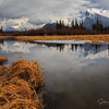 Mount Rundle, Vermillion lakes