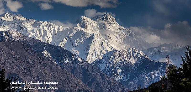 """The massive mouton """"Nanga Parbat"""" Himalaya, Pakistan."""