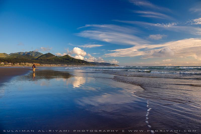 Oregon Coast, Cannon Beach, USA.