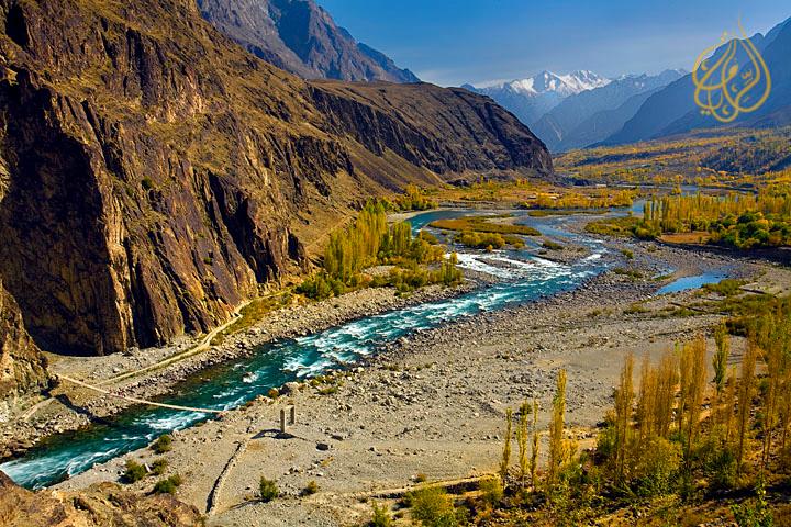 "Outstanding beauty of Gizir landscape ""North Pakistan"""