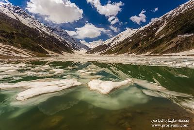 """Lake Saifulmalook, Kaghan valley """"Pakistan""""."""