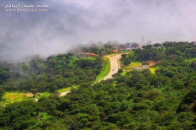 A view from Dhalkout, South Oman.  منظر من ولاية ضلكوت ، سلطنة عمان