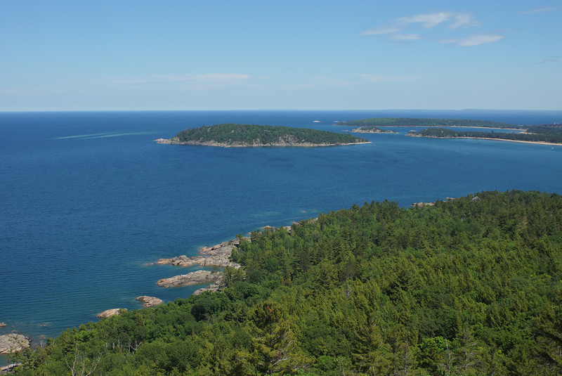 Lake Superior from Sugarloaf Mountain<br /> Marquette, Michigan