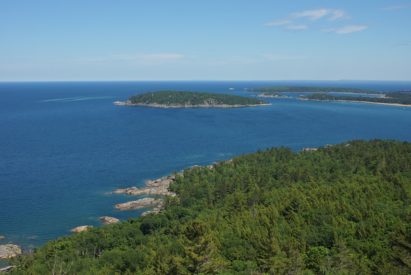 Lake Superior from Sugarloaf Mountain<br /> Marquette, Michigan