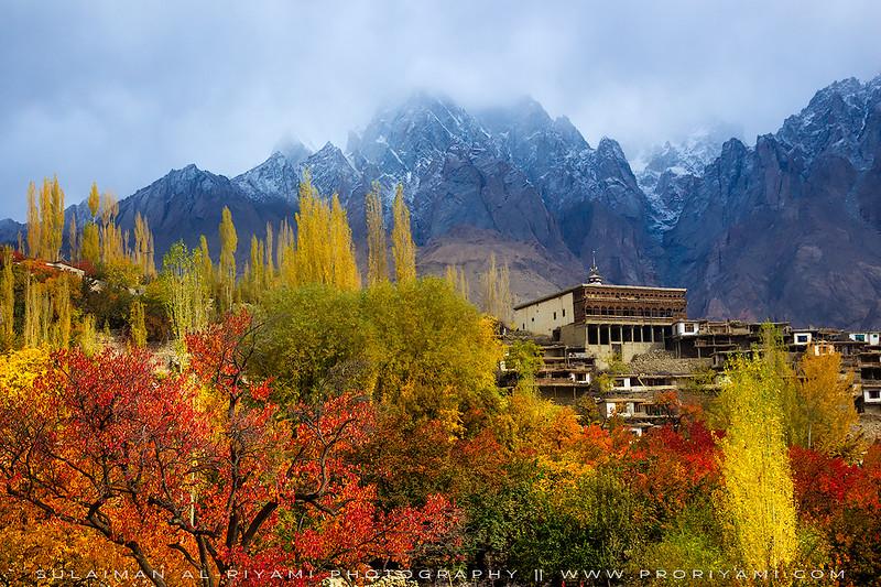 Machulu village, North Pakistan, Autumn 2014