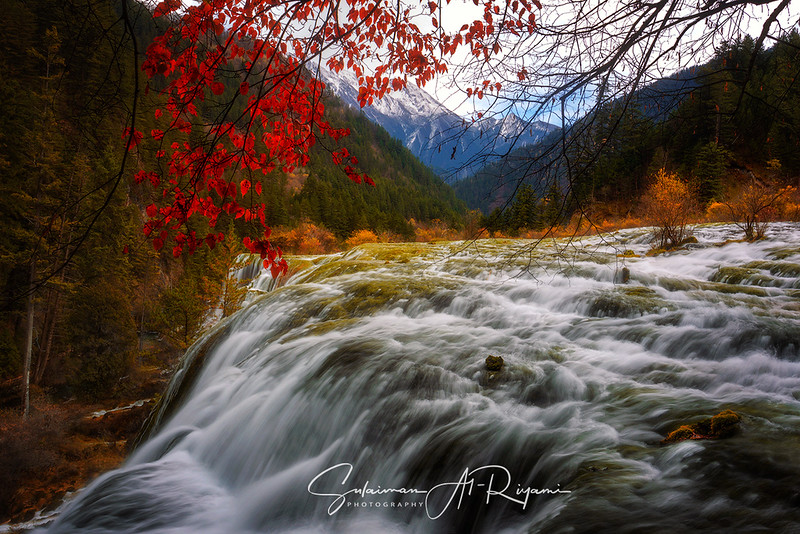 Jiuzhaigou NP waterfalls
