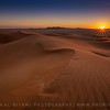 Sunset of the Empty Quarter, Oman.