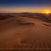 Sunset of the Empty Quarter, Oman.