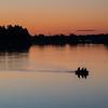 Golden hour fishing