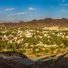 "Panoramic view of Bahla town ""Oman""."