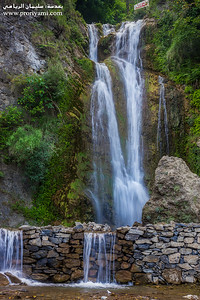 "Waterfalls, Azad Kashmir ""Pakistan""."