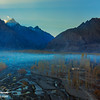 "Foggy morning at Skardu ""Pakistan""."