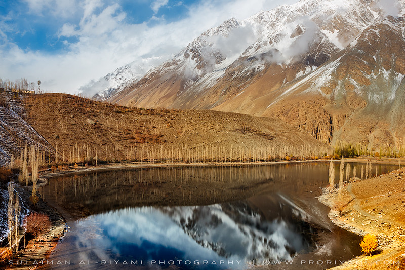Phudar lake, North Pakistan
