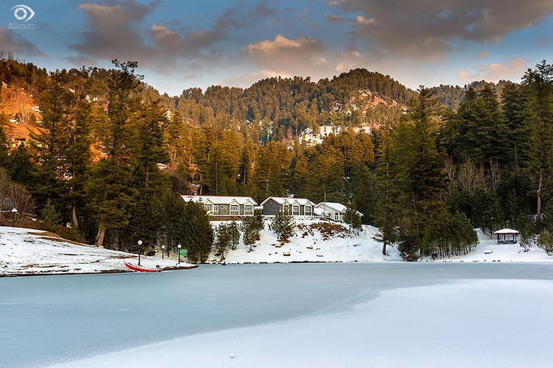 """Lake Banjosa, Azad Kashmir """"Pakistan""""."""