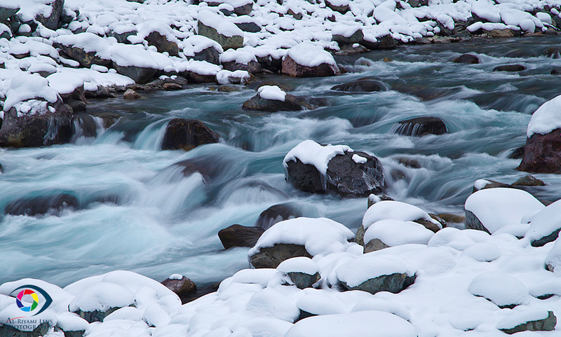 cold water stream.