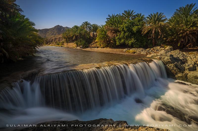 """Wadi Al-Hoqain """"Rustaq - Oman""""."""