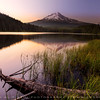 "Trillium Lake during sunrise, Oregon "" USA """